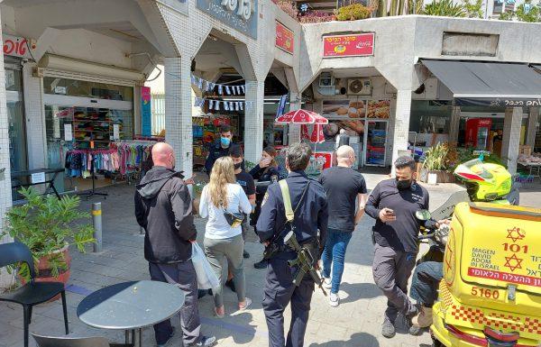 סטירה, ריסוס גז פלפל בפנים, איומים וצעקות בגלל חניה בכיכר מגדיאל